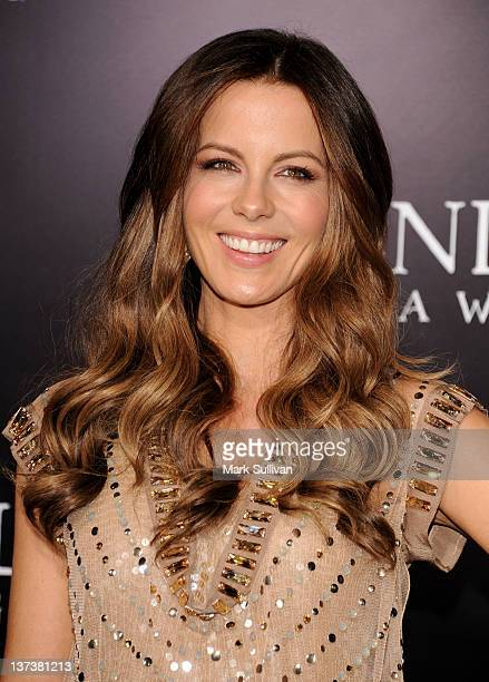 """Actress Kate Beckinsale attends the Los Angeles premiere of """"Underworld Awakening"""" at Grauman's Chinese Theatre on January 19, 2012 in Hollywood,..."""