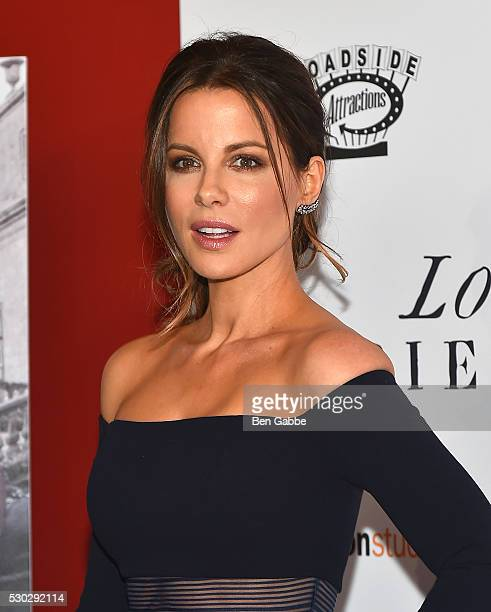 Actress Kate Beckinsale attends the 'Love Friendship' New York Screening at Landmark Sunshine Cinema on May 10 2016 in New York City