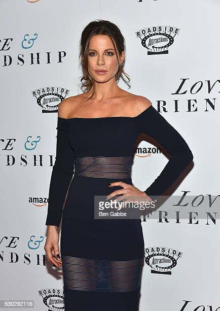 Actress Kate Beckinsale attends the Love Friendship New York Screening at Landmark Sunshine Cinema on May 10 2016 in New York City