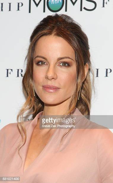 Actress Kate Beckinsale attends The Moms screening of 'Love Friendship' MAMARAZZI at Park Avenue Screening Room on May 12 2016 in New York City