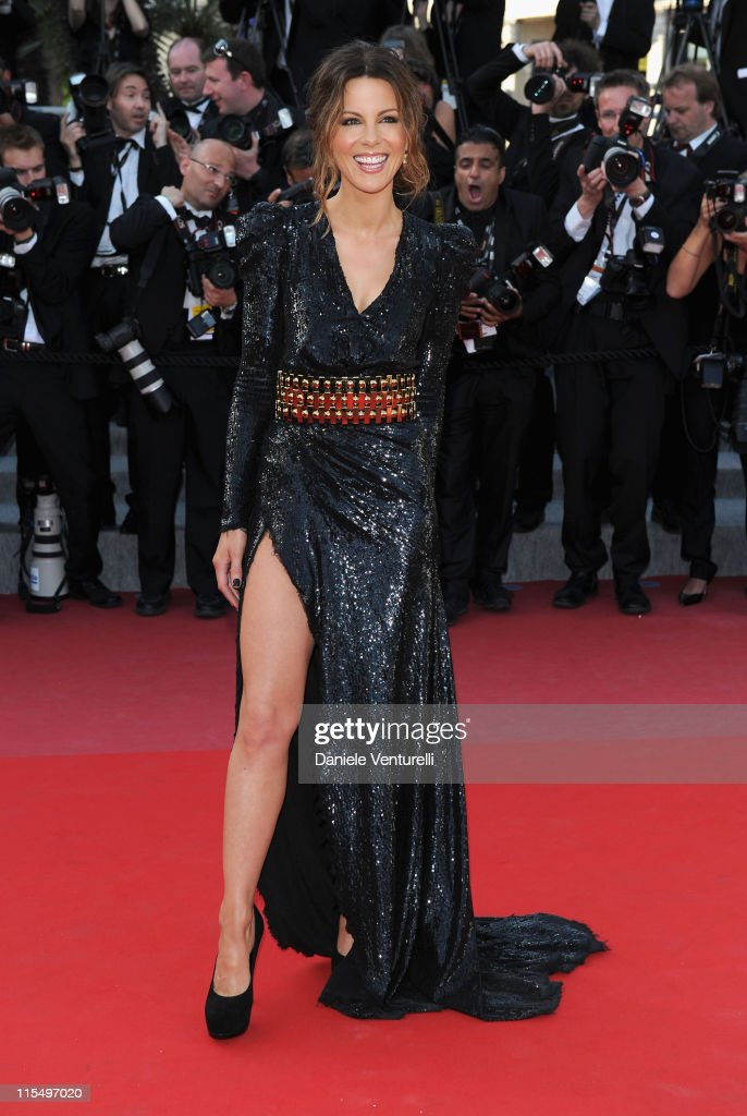 Actress Kate Beckinsale attends the premiere of 'Biutiful' held at the Palais des Festivals during the 63rd Annual International Cannes Film Festival on May 17, 2010 in Cannes, France.