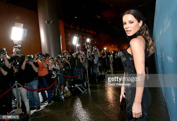 Actress Kate Beckinsale attends the premiere of Love Friendship at the Directors Guild of America on May 03 2016 in Los Angeles California