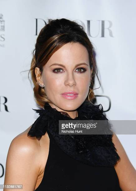 Actress Kate Beckinsale celebrates DuJour Magazine spring issue cover at PHD Rooftop Lounge at Dream Downtown on February 28 2019 in New York City
