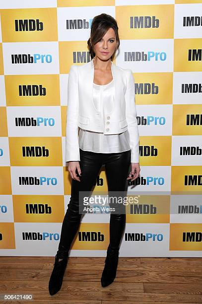 Actress Kate Beckinsale in The IMDb Studio In Park City Utah Day Two on January 23 2016 in Park City Utah