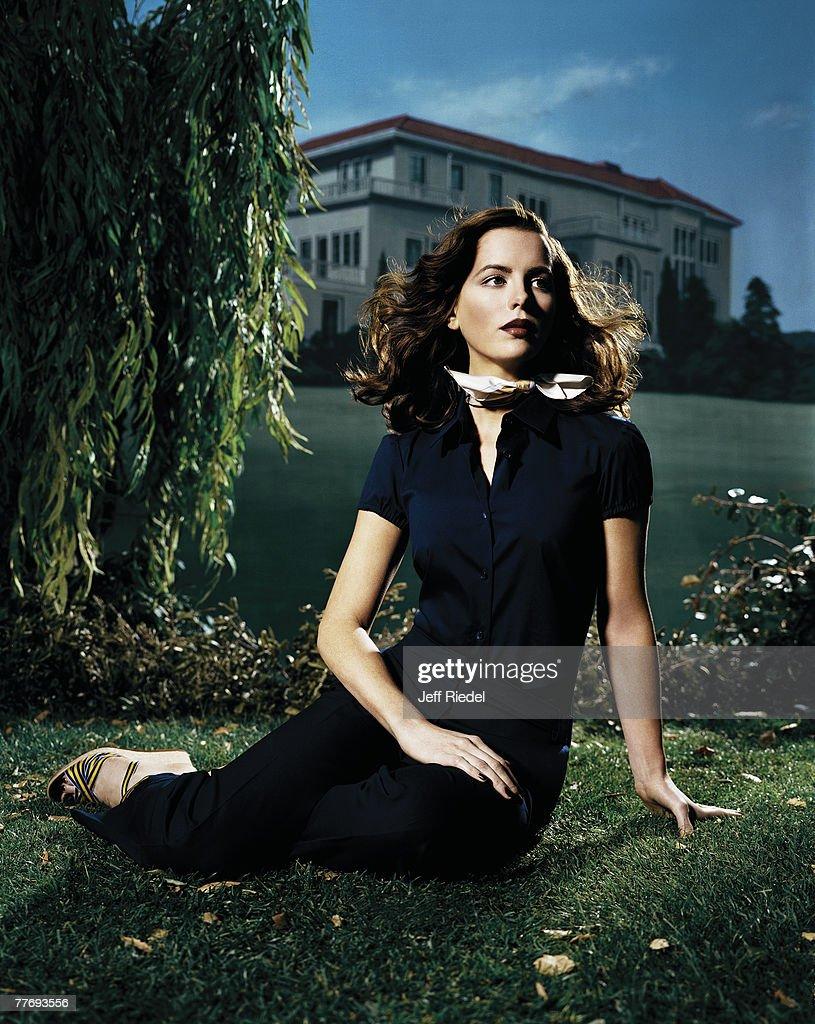 Kate Beckinsale, New York Times Magazine, April 1, 2002 : News Photo