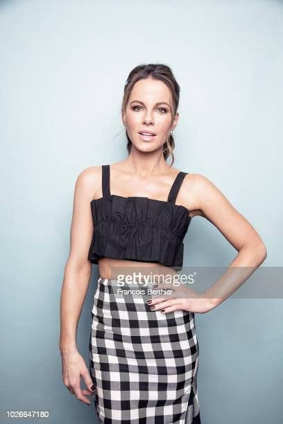 Actress Kate Beckinsale is photographed for Plugged on September 2018 in Paris France