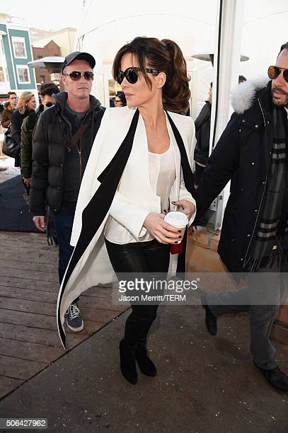 Actress Kate Beckinsale is seen at the Sundance Film Festival on January 23 2016 in Park City Utah