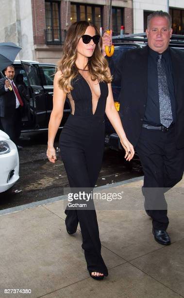 Actress Kate Beckinsale is seen in Midtown on August 7 2017 in New York City