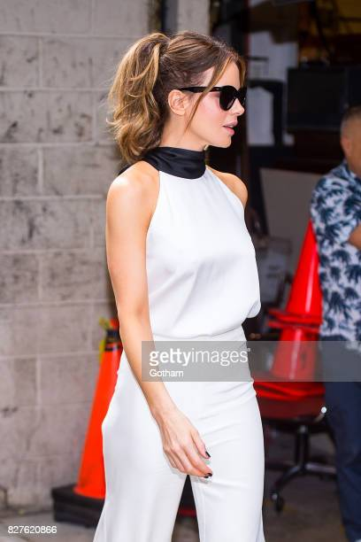 Actress Kate Beckinsale is seen in the Upper West Side on August 8 2017 in New York City