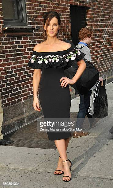 Actress Kate Beckinsale is seen on May 11 2016 in New York City
