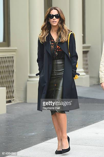 Actress Kate Beckinsale is seen on the set of The Only Boy In New York on October 13 2016 in New York City