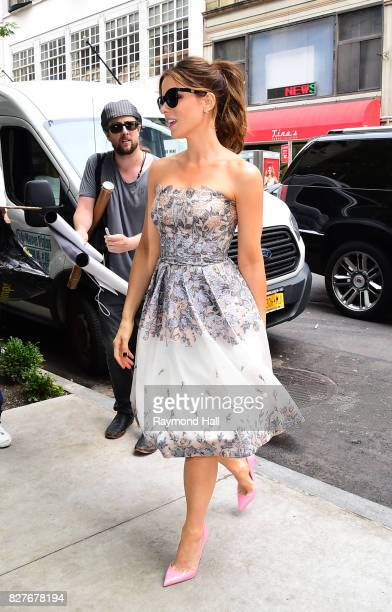 Actress Kate Beckinsale is seen walking in Soho on August 8 2017 in New York City