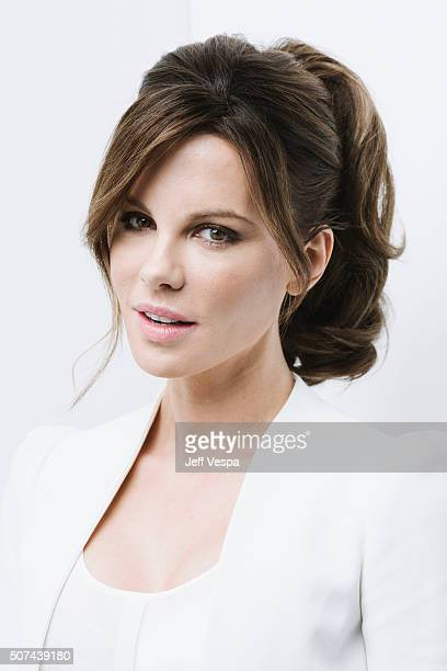 Actress Kate Beckinsale of 'Love Friendship' poses for a portrait at the 2016 Sundance Film Festival on January 23 2016 in Park City Utah