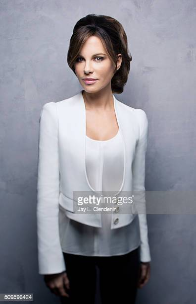 Actress Kate Beckinsale of 'Love Friendship' poses for a portrait at the 2016 Sundance Film Festival on January 23 2016 in Park City Utah CREDIT MUST...