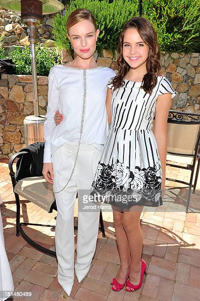 Actress Kate Bosworth and actress/honoree Bailee Madison attend the 2013 Catalina Film Festival on September 21 2013 in Catalina Island California