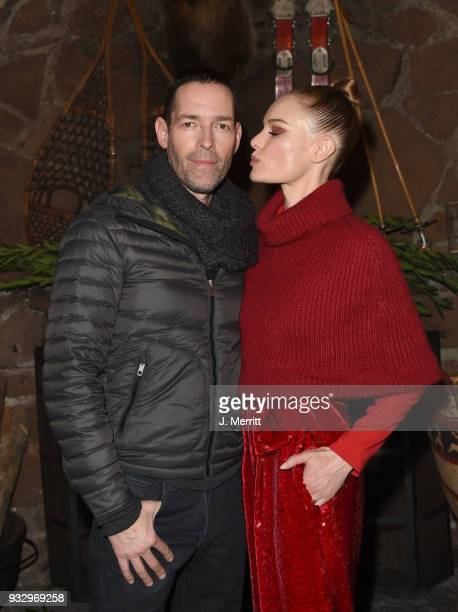 Actress Kate Bosworth and her husband/director Michael Polish attends the 2018 Sun Valley Film Festival Pioneer Award Party for Kate Bosworth on...