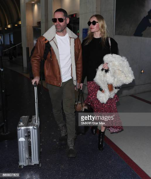 Actress Kate Bosworth and Michael Polish are seen on December 4 2017 in Los Angeles California
