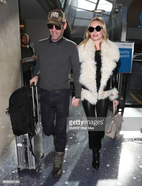 Actress Kate Bosworth and Michael Polish are seen on December 8 2017 in Los Angeles CA