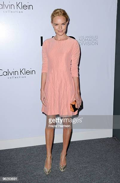 Actress Kate Bosworth arrives at Calvin Klein Collection Los Angeles Nomadic Division 1st Annual Celebration For LA Arts Monthly and Art Los Angeles...