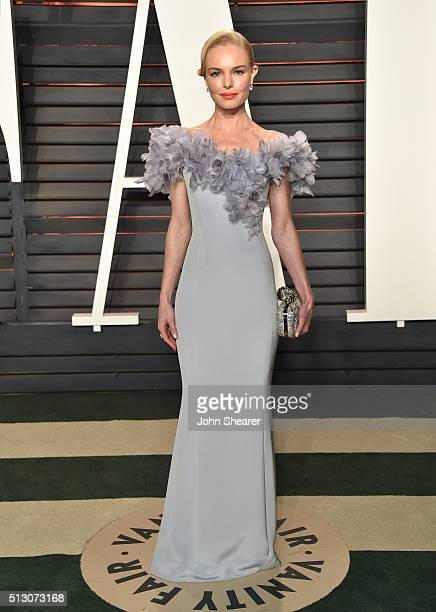 Actress Kate Bosworth arrives at the 2016 Vanity Fair Oscar Party Hosted By Graydon Carter at Wallis Annenberg Center for the Performing Arts on...