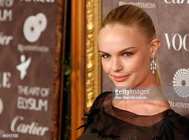 Actress Kate Bosworth arrives at the Art of Elysium 2nd Annual Heaven Gala held at Vibiana on January 10, 2009 in Los Angeles, California.