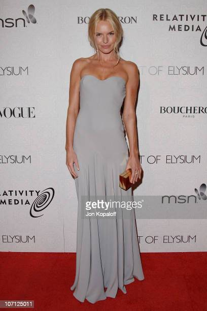 Actress Kate Bosworth arrives at The Art of Elysium's 3rd Annual BlackTie Charity Gala Heaven at 9900 Wilshire Blvd on January 16 2010 in Beverly...