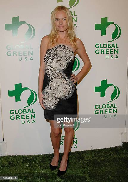 Actress Kate Bosworth arrives at the Global Green's 6th Annual PreOscar Party at Avalon on February 19 2009 in Hollywood California