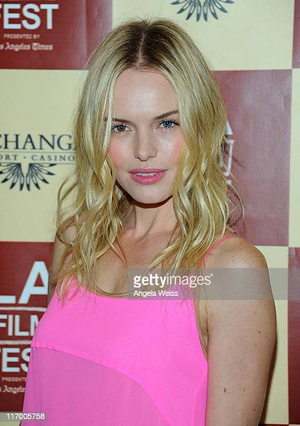 Actress Kate Bosworth arrives at the 'L!fe Happens' World Premiere during the 2011 Los Angeles Film Festival held at the Regal Cinemas L.A. LIVE on...