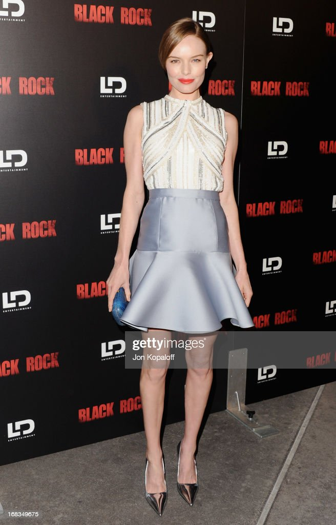 Actress Kate Bosworth arrives at the Los Angeles Premiere 'Black Rock' at ArcLight Hollywood on May 8, 2013 in Hollywood, California.