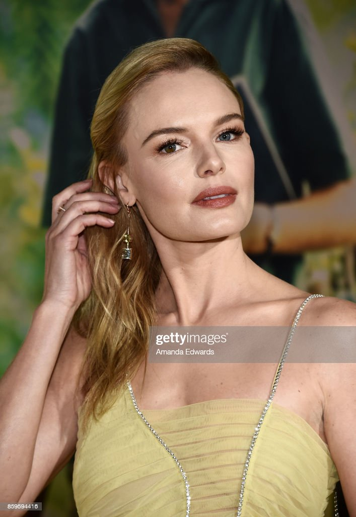 Actress Kate Bosworth arrives at the premiere of National Geographic Documentary Films' 'Jane' at the Hollywood Bowl on October 9, 2017 in Hollywood, California.