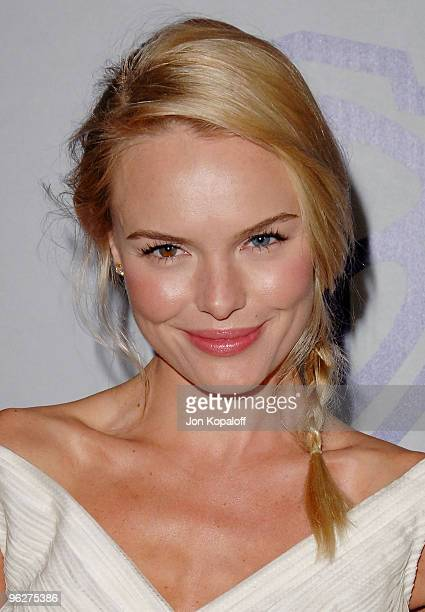 Actress Kate Bosworth arrives at the Warner Brothers/InStyle Golden Globes After Party at The Beverly Hilton Hotel on January 17 2010 in Beverly...