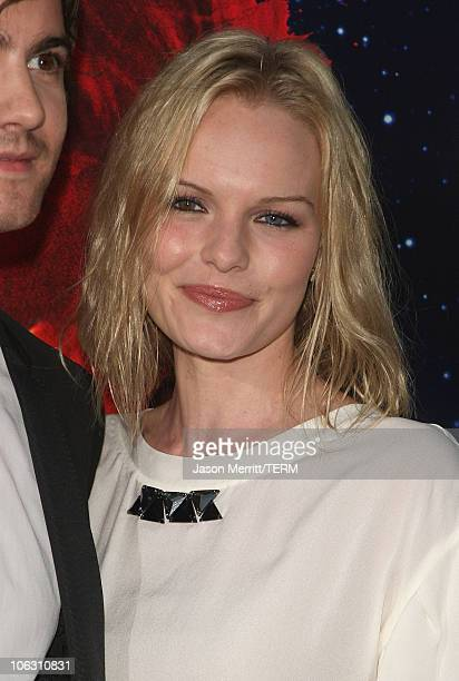Actress Kate Bosworth arrives for a special screening of 'Across The Universe' at the El Capitan Theatre on September 18 2007 in Hollywood California