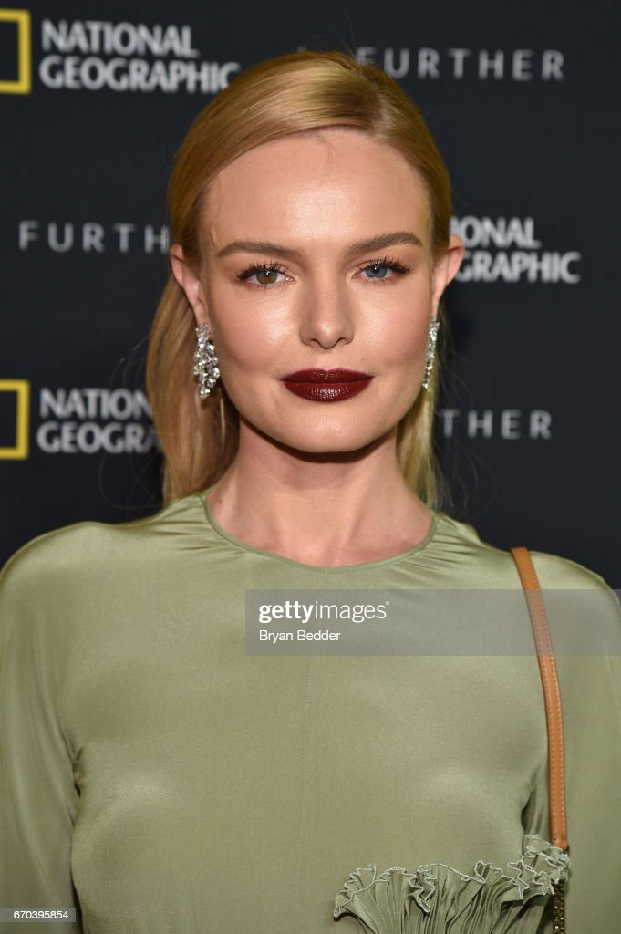 National Geographic's Further Front Event In New York City - Red Carpet : News Photo