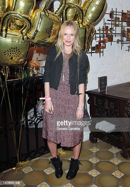 Actress Kate Bosworth attends Mulberry Firepit Party at Coachella at the Parker Palm Springs on April 13 2012 in Palm Springs California