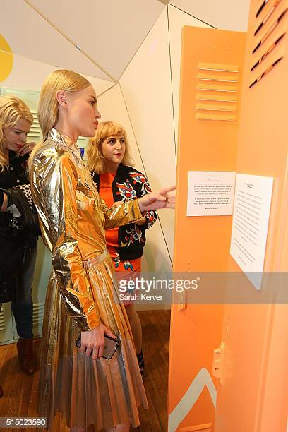 Actress Kate Bosworth attends Refinery29's School of Self Expression opening night party presented by Neiman Marcus during SXSW on March 11 2016 in...