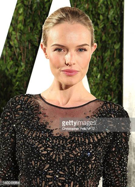 Actress Kate Bosworth attends the 2012 Vanity Fair Oscar Party Hosted By Graydon Carter at Sunset Tower on February 26 2012 in West Hollywood...