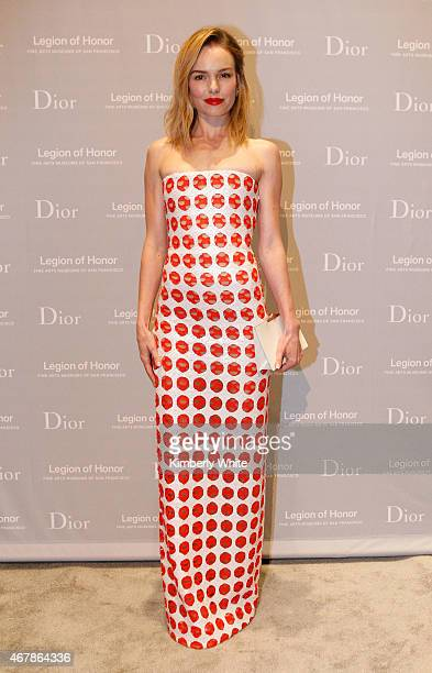Actress Kate Bosworth attends the 2015 MidWinter Gala presented by Dior at Legion Of Honor on March 27 2015 in San Francisco California