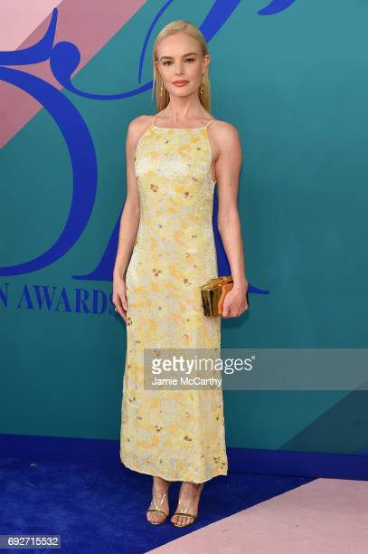 Actress Kate Bosworth attends the 2017 CFDA Fashion Awards at Hammerstein Ballroom on June 5 2017 in New York City