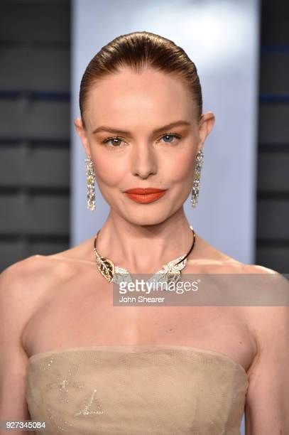 Actress Kate Bosworth attends the 2018 Vanity Fair Oscar Party hosted by Radhika Jones at Wallis Annenberg Center for the Performing Arts on March 4...