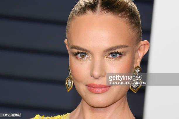 US actress Kate Bosworth attends the 2019 Vanity Fair Oscar Party following the 91st Academy Awards at The Wallis Annenberg Center for the Performing...