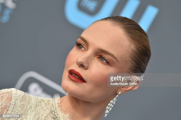 Actress Kate Bosworth attends the 23rd Annual Critics' Choice Awards at Barker Hangar on January 11 2018 in Santa Monica California