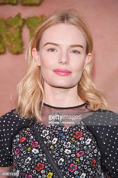 Actress Kate Bosworth attends the 5th Annual Coach and Friends of the High Line Summer Party at the High Line on June 23 2015 in New York City