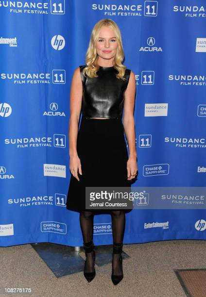 Actress Kate Bosworth attends the Another Happy Day Premiere at the Eccles Center Theatre during the 2011 Sundance Film Festival on January 23 2011...