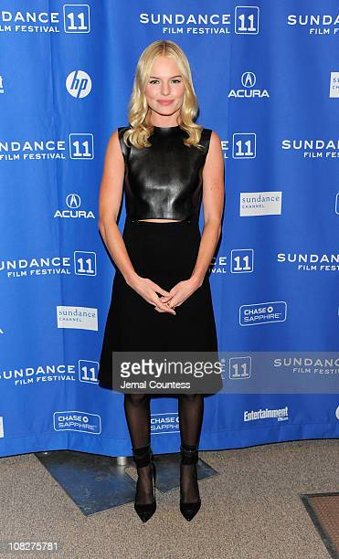 Actress Kate Bosworth attends the 'Another Happy Day' Premiere at the Eccles Center Theatre during the 2011 Sundance Film Festival on January 23 2011...