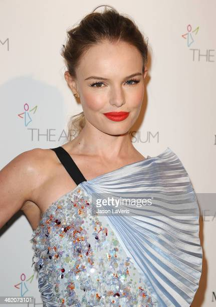 Actress Kate Bosworth attends the Art of Elysium's 7th annual Heavan gala at Skirball Cultural Center on January 11, 2014 in Los Angeles, California.