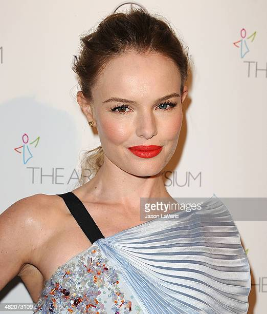 Actress Kate Bosworth attends the Art of Elysium's 7th annual Heavan gala at Skirball Cultural Center on January 11 2014 in Los Angeles California
