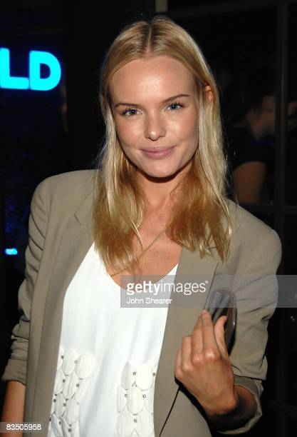 Actress Kate Bosworth attends the Blackberry Bold launch party at a private residence on October 30 2008 in Beverly Hills California