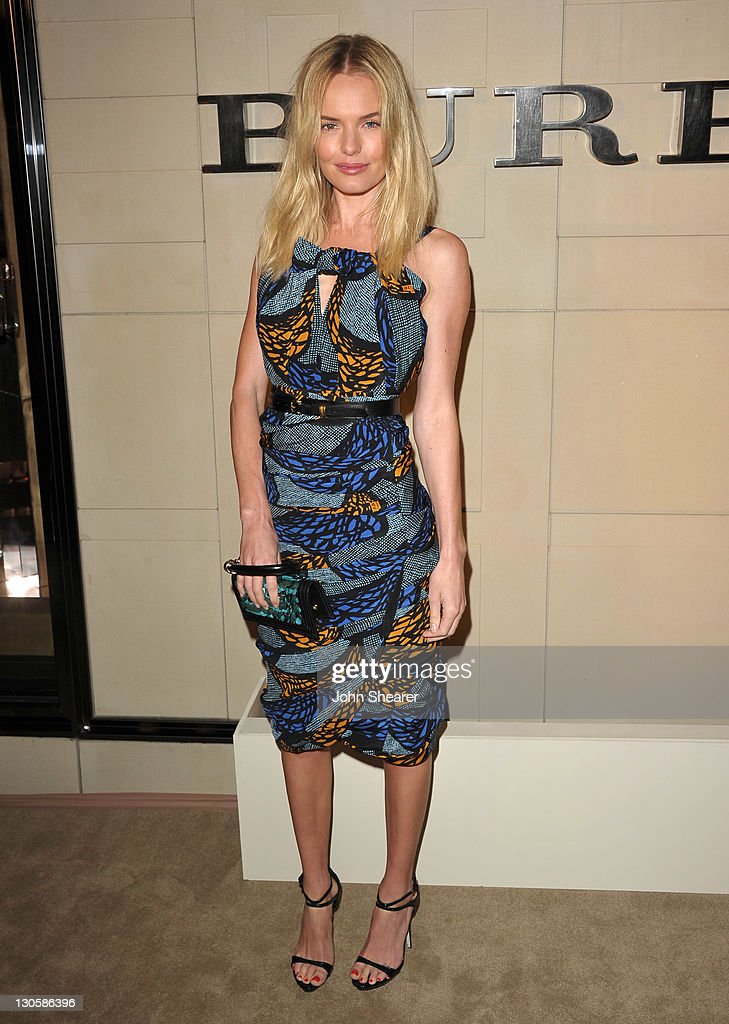 Actress Kate Bosworth attends the Burberry Body Launch event at Burberry on October 26, 2011 in Beverly Hills, California.