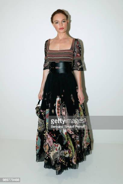 Actress Kate Bosworth attends the Christian Dior Haute Couture Fall Winter 2018/2019 show as part of Paris Fashion Week on July 2 2018 in Paris France