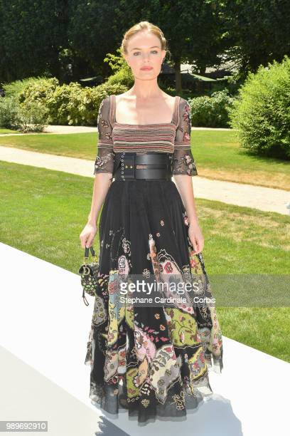 Actress Kate Bosworth attends the Christian Dior Haute Couture Fall/Winter 20182019 show as part of Haute Couture Paris Fashion Week on July 2 2018...